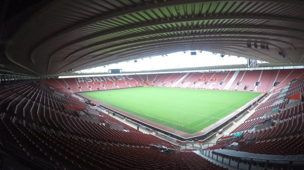 at St Mary's stadium