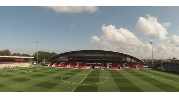 Highbury Stadium- Fleetwood Town