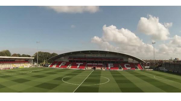 Highbury Stadium- Fleetwood Town