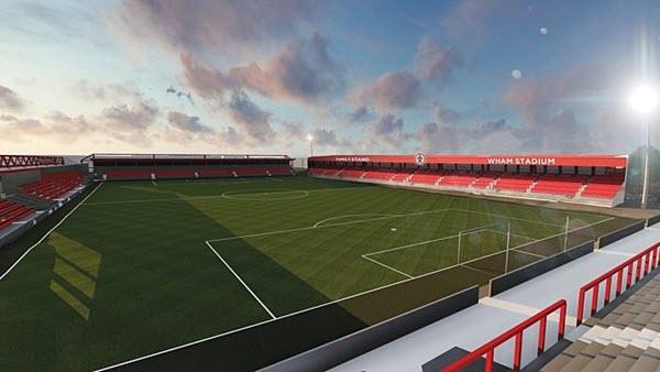 Wham Stadium- Accrington Stanley